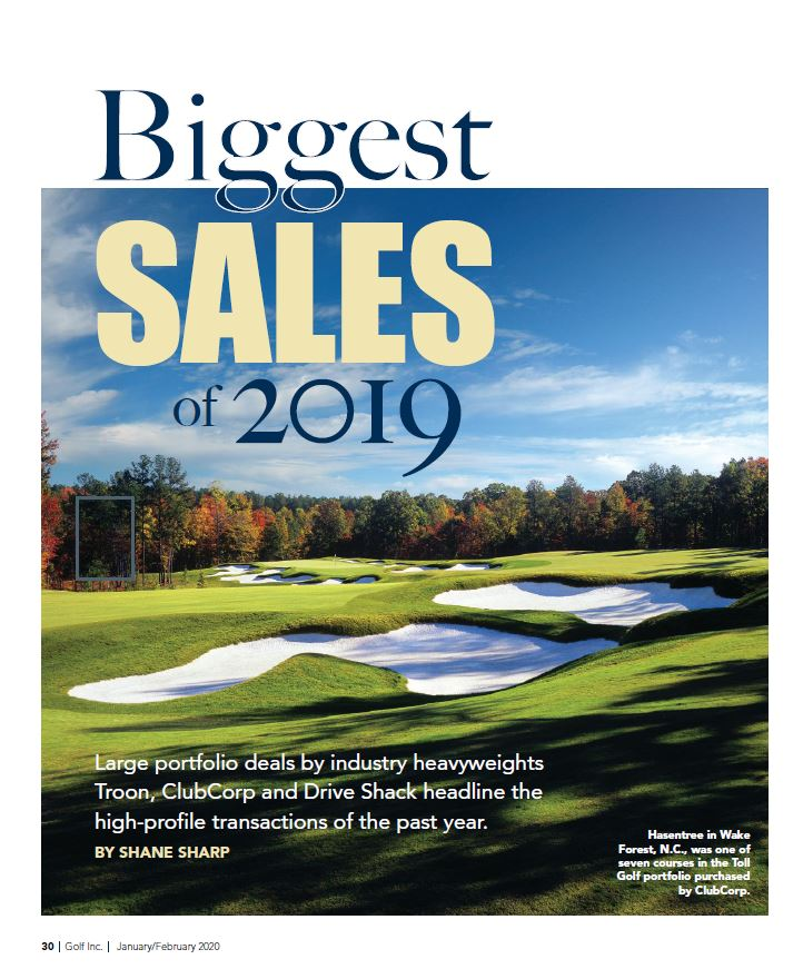 """Biggest Sales of 2019"""