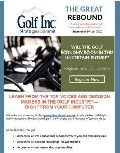 Golf Inc. Strategies Summit